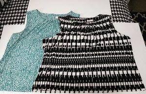 BUNDLE DEAL! Calvin Klein Sleeveless Blouses